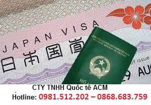 Thu tuc xin visa Nhat Ban