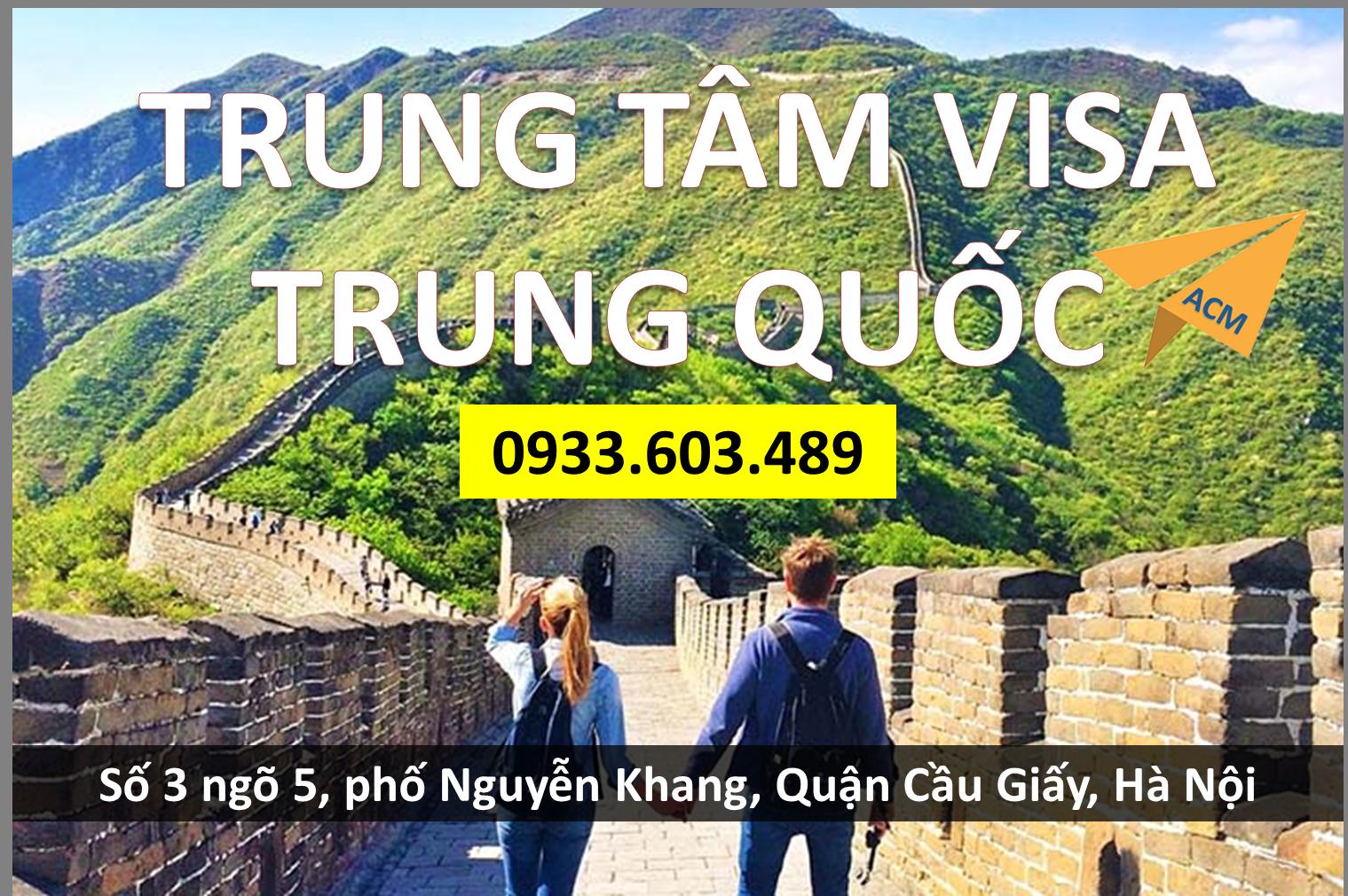 Dich vu lam nhanh Visa Trung Quoc cho khach hang tai Da Nang